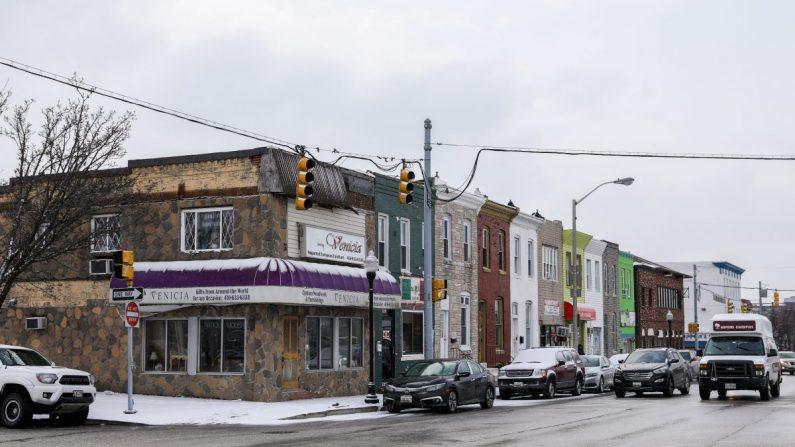 Una zona de oportunidad en Baltimore, el 3 de febrero de 2019. (Samira Bouaou/The Epoch Times)