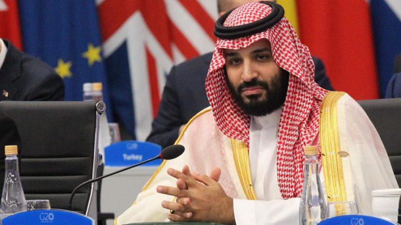 Fotografía de archivo fechada el 30 de noviembre de 2018 que muestra al príncipe heredero de Arabia Saudí, Mohammed bin Salman, mientras participa en la plenaria de la Cumbre del G20, en el centro de convenciones Costa Salguero de Buenos Aires (Argentina). EFE/ Aitor Pereira /Archivo
