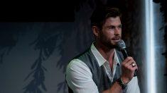 Doble de Chris Hemsworth dice que le cuesta seguir el ritmo de aumento de peso de la estrella