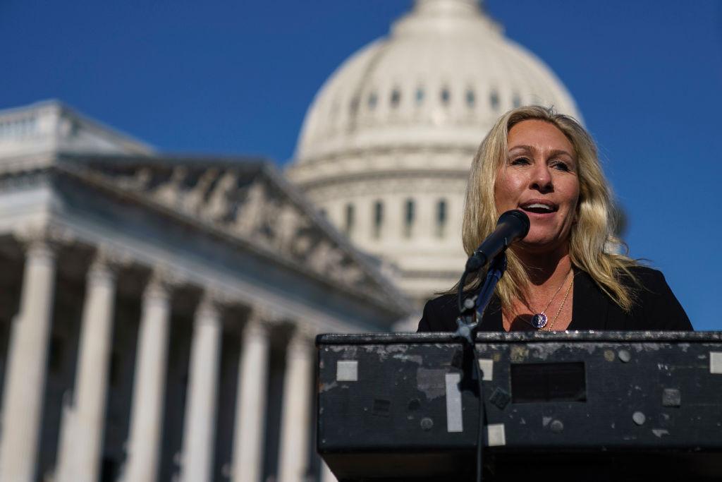 "Rep. Marjorie Taylor Greene forma el ""Caucus America First"""