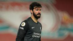 Fallece el padre del portero del Liverpool Alisson ahogado en Brasil
