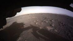 Perseverance toma la primera foto en color de la superficie de Marte
