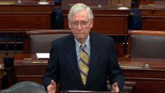 McConnell advierte sobre el bloqueo que sucedería si los demócratas eliminan el obstruccionismo