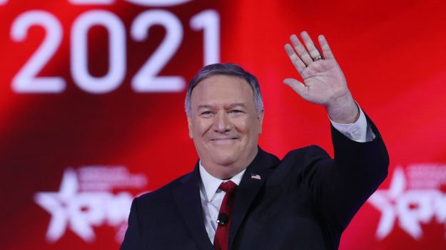 """Pompeo promociona éxito de Trump sobre logros de política exterior de """"América Primero"""" en la CPAC"""