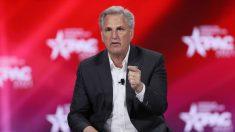 McCarthy dice que el Partido Republicano recuperará la mayoría en las elecciones de 2022