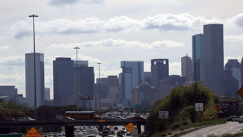 El centro de Houston se muestra el 25 de marzo de 2015 en Houston, Texas. (Spencer Platt/Getty Images)