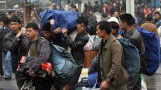 Protestas de trabajadores migrantes chinos por salarios impagos se intensifican en Año Nuevo chino