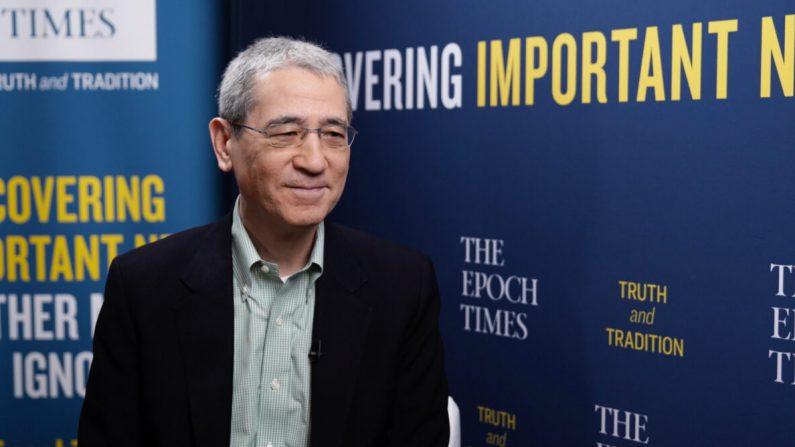El analista de temas sobre China, Gordon Chang, en la Conferencia de Acción Política Conservadora 2021, en Orlando, Florida, el 25 de febrero de 2021. (Tal Atzmon/The Epoch Times)
