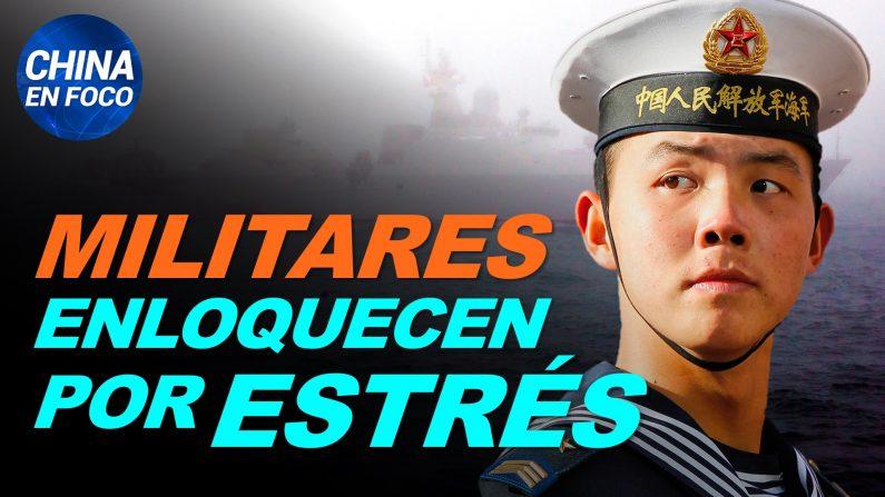 Militares chinos enloquecen por tanta presión. Y aumentan los suicidios en ciudades encerradas. (China en Foco/NTD en Español)