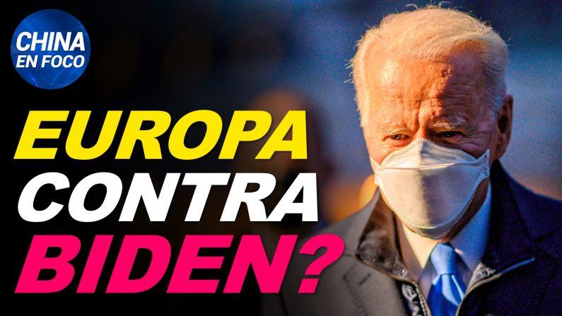 ¿Líderes europeos eligen a China y rechazan a Biden? Descubren robots espías de China. (China en Foco/NTD en Español)