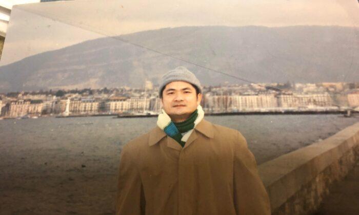 Dong Nguyen de visita en Ginebra, Suiza, en 2001. (Cortesía de Dong Nguyen)