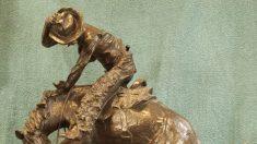 """""""Llevándote allí"""": Frederic Remington te transporta al Salvaje Oeste con """"La serpiente de cascabel"""""""