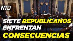 NTD Noticias: Trump entusiasmado con 2022; Republicanos que votaron a favor del impeachment enfrentan reacciones
