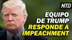 NTD Noticias: Abogados de Trump responden a impeachment; Biden firma órdenes sobre inmigración