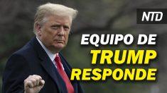 NTD Noticias: Equipo de Trump responde a solicitud para testificar en impeachment; Trump se va de sindicato