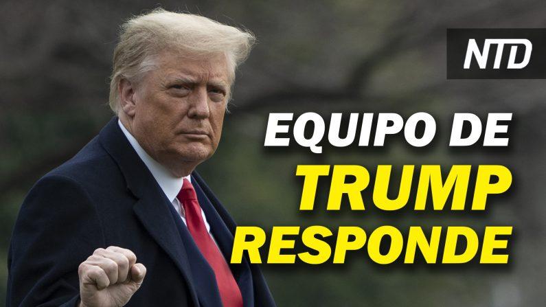 Equipo de Trump responde a solicitud para testificar en impeachment; Trump se va de sindicato. (NTD Noticias/NTD en Español)