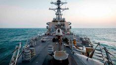 Buque de guerra de EE. UU. atraviesa estrecho de Taiwán por primera vez bajo presidencia de Biden