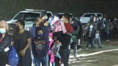 Detienen a 253 extranjeros ilegales en la frontera de Texas en solo una hora