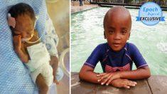 Niño de 7 años de Sudáfrica sigue mejorando aunque médicos dijeron que nunca caminaría ni hablaría