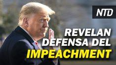 NTD Noticias: Equipo de Trump revela estrategia de defensa; ¿Volverá Trump a las redes sociales?
