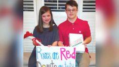 Chica con síndrome de Down le pidió a su amigo ir al baile del colegio; ahora están planeando la boda