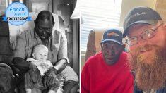 Hombre de Texas que creció sin padre agradece a su vecino de la infancia por ayudarlo a criarse