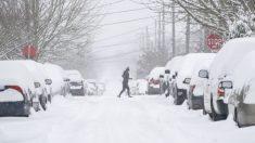La mitad de EE.UU. tiene alertas por el clima invernal a causa del frío que está cubriendo al país