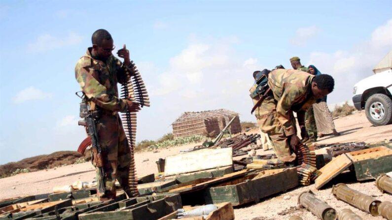 Más de cien civiles murieron el martes 30 de marzo de 2021 por la noche en un ataque de hombres armados perpetrados la región etíope de Oromía, donde está la capital del país, Adís Abeba. EFE/Ibrahim Elmi/Archivo