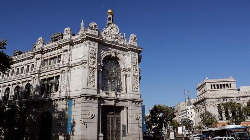Fachada del Banco de España. EFE/Chema Moya/Archivo