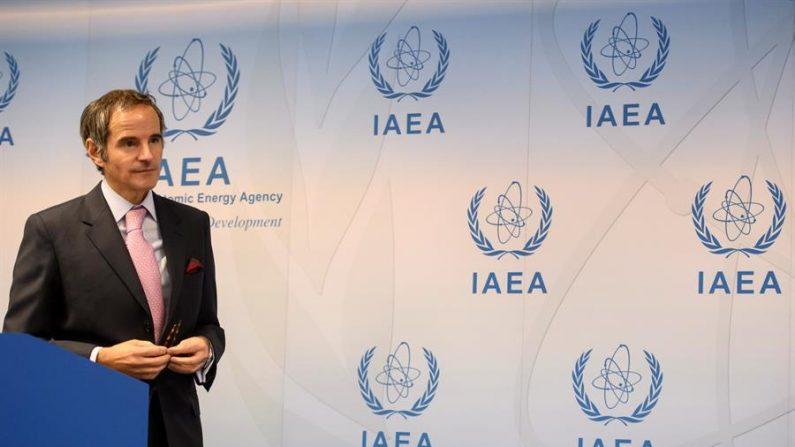 El director del OIEA, Rafael Grossi.EFE/EPA/CHRISTIAN BRUNA