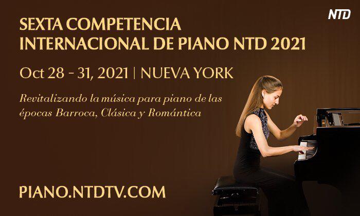 Regresa la Competencia Internacional de Piano de NTD en su sexta edición