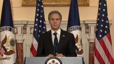 """Blinken: """"Fronteras fuertes"""" son fundamentales para seguridad del país, pero con """"solución diplomática"""""""
