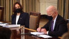 Biden dice que Kamala Harris liderará los esfuerzos para frenar oleada de inmigrantes en la frontera