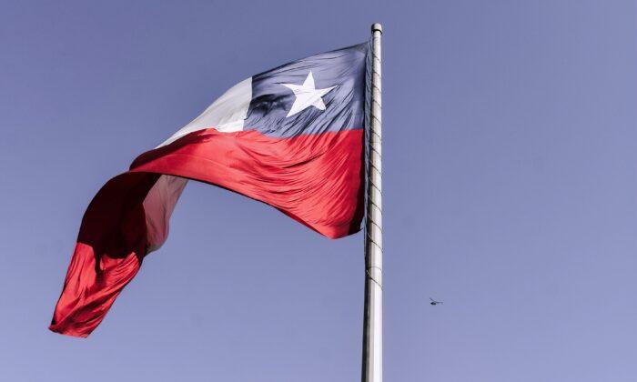 La bandera de Chile. (Elias Almaguer/Unsplash)