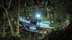 Al menos 27 muertos en un accidente de autobús en Indonesia