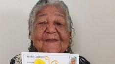 Abuelita brasileña de 101 años presenta currículum en una empresa para ayudar a su familia