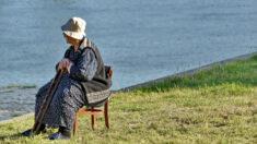Abuelita de 99 años de la II Guerra Mundial logra controlar un avión de combate