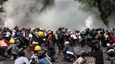 Al menos 15 manifestantes mueren en una nueva jornada de protestas en Birmania