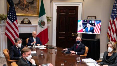 Biden y López Obrador hablan de inmigración, el virus del PCCh y el clima en reunión bilateral virtual