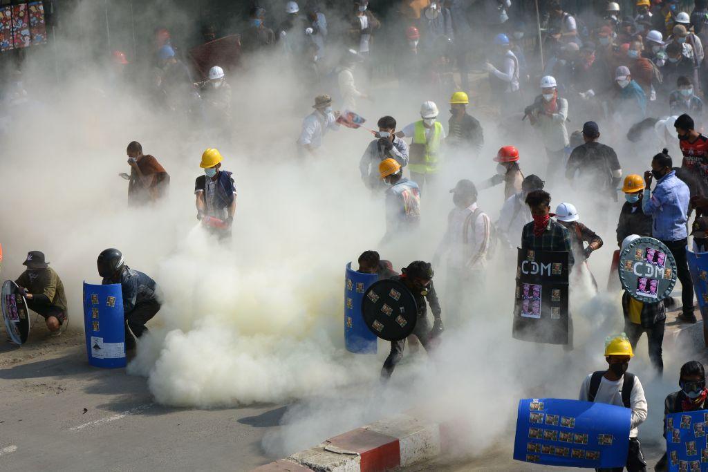 Condena internacional a la violencia policial en Birmania contra protestas