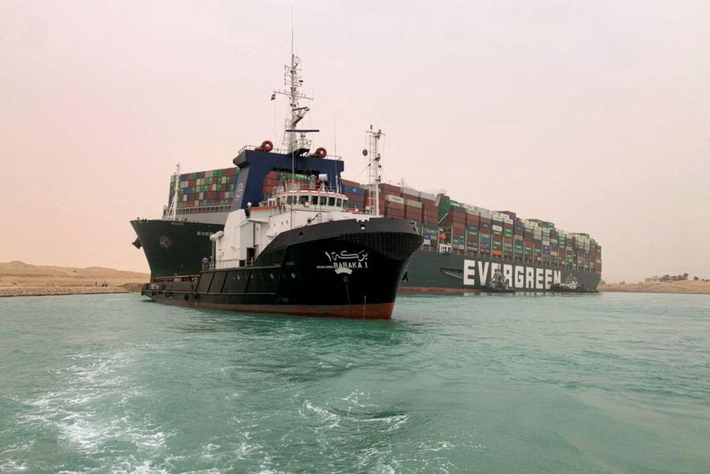 Canal de Suez y propietaria del Ever Given llegan a un principio de acuerdo