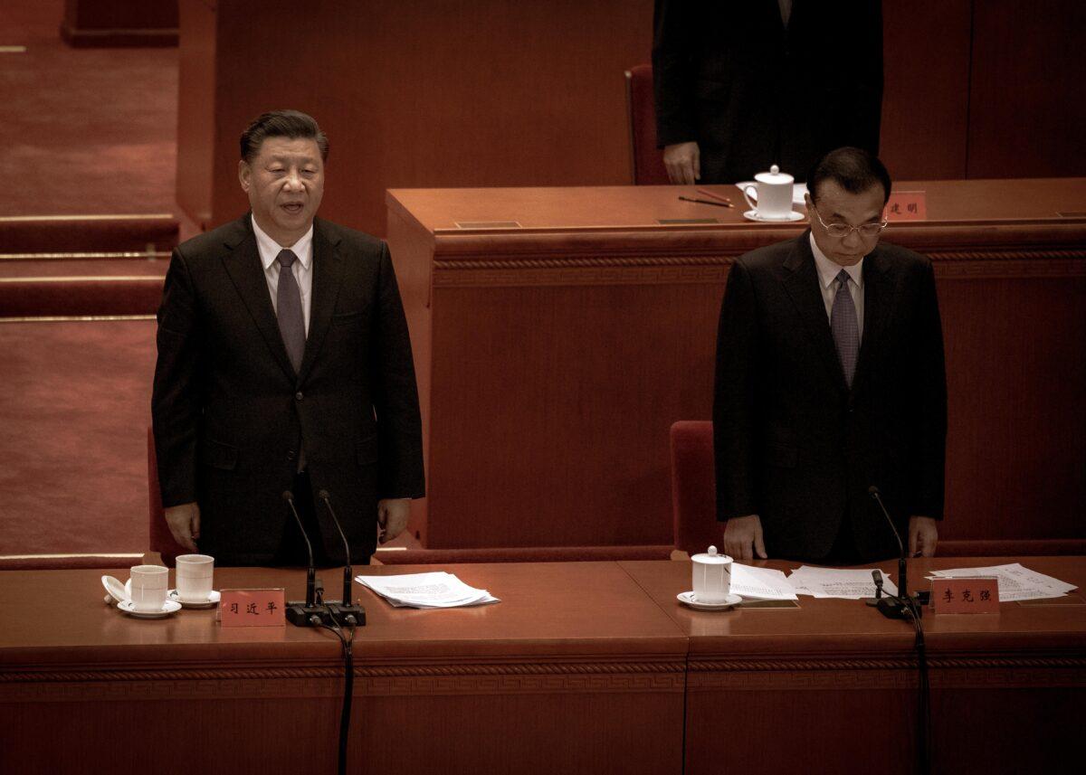 Aparecen signos de luchas internas en el liderazgo chino en un documento filtrado