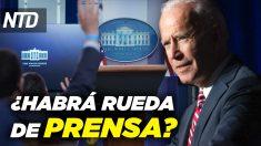 NTD Noticias: Senado debate sobre paquete de ayuda; Presionan a Biden para que de ruedas de prensa