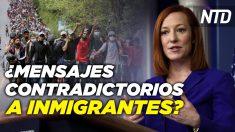 NTD Noticias: Cámara aprueba paquete de USD 1.9 billones; Casa Blanca: La frontera no está abierta