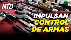 NTD Noticias: Aprueban proyecto de ley sobre control de armas; Biden firma paquete de ayuda