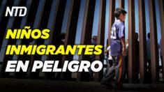 Niños inmigrantes en peligro por COVID-19 y agua peligrosa; Primera empleada que acusa a Cuomo | NTD