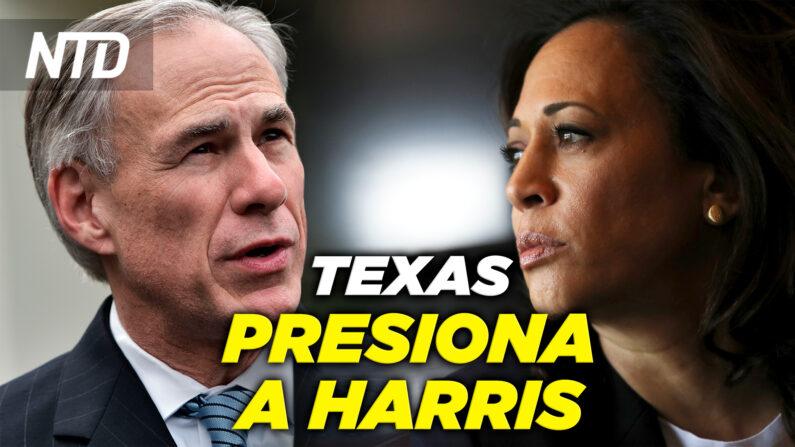 NTD Noticias: Texas presiona a Harris para que visite la frontera; Gaetz responde a The New York Times (NTD Noticias/NTD en Español)