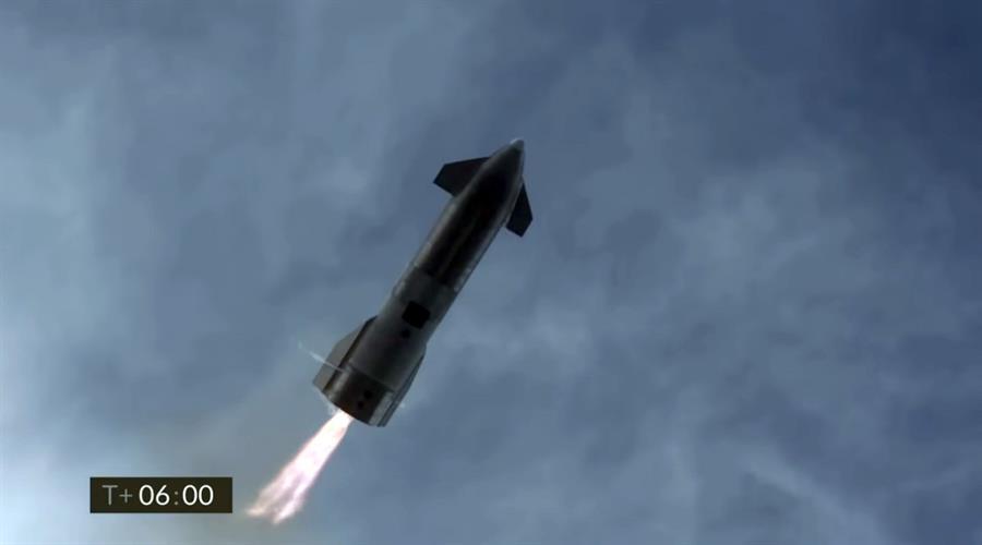 El Starship de SpaceX aterriza con éxito, pero vuelve a estallar