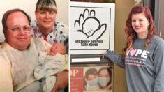 """Bebé recién nacida rescatada de la basura en 1995, ahora salva vidas: """"Estoy aquí por una razón"""""""