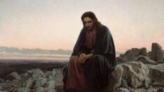 """La lucha contra la tentación: """"Cristo en el desierto"""""""